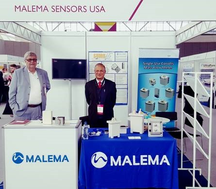 Malema's Chairman Dan Malani and Engineering Director Peter Pozniak at Malema's booth at BPI Amsterdam 2017