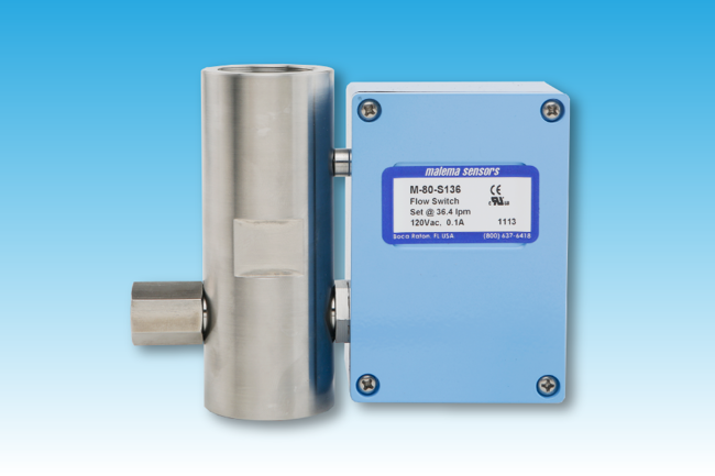 Picture of M-80 Series Fixed Set Point Flow Switches