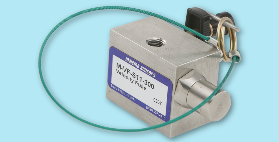 Improve Safety of Hydrogen Service using Malema™ M-VF Excess Flow Valves